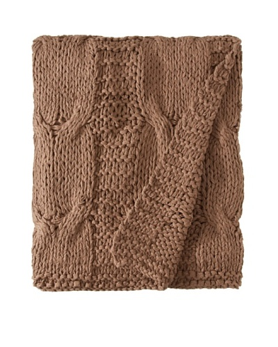 Amity Cable Knit Throw
