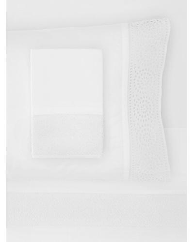 Amity Home Cutwork Sheet Set [White]