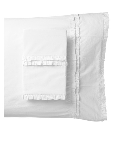 Amity Home Set of 2 Petite Ruffle Pillowcases