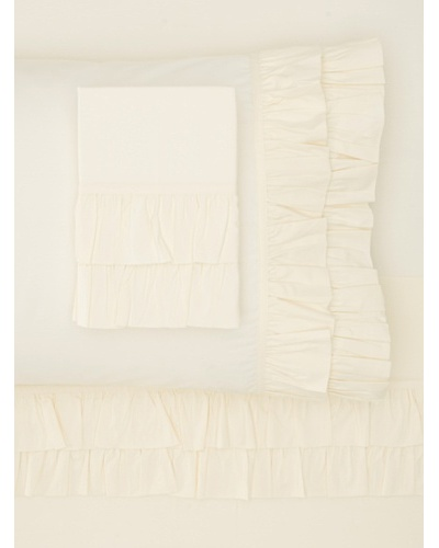 Amity Home Ruffle Sheet Set [Ivory]