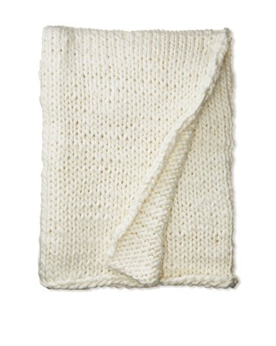 Amity Home Ryder Throw, Ivory