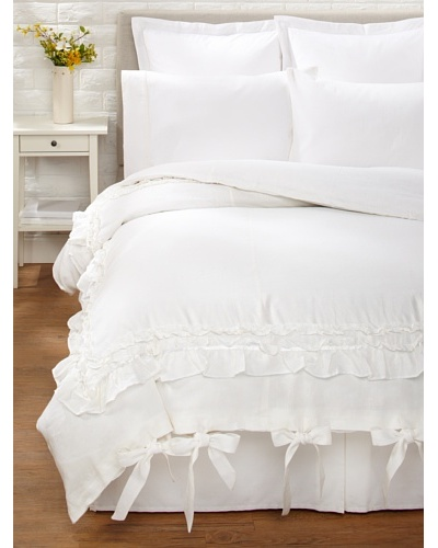 Amity Home Bailey Duvet Cover [White]