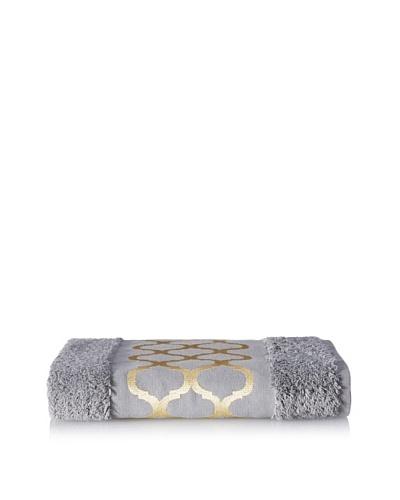 Anali Tangier Hand Towel, Yellow/Grey