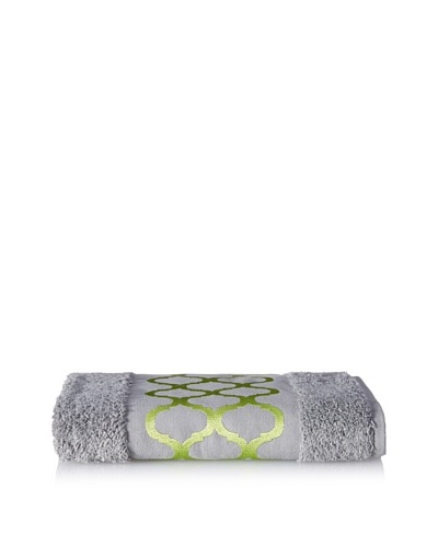 Anali Tangier Hand Towel, Green/Grey