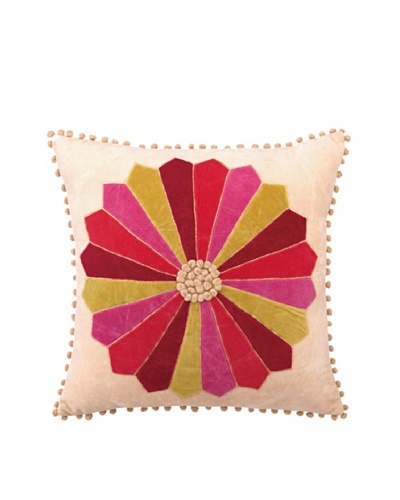 Anna Marie Horner Holiday House Holly Berry Patchwork Pillow