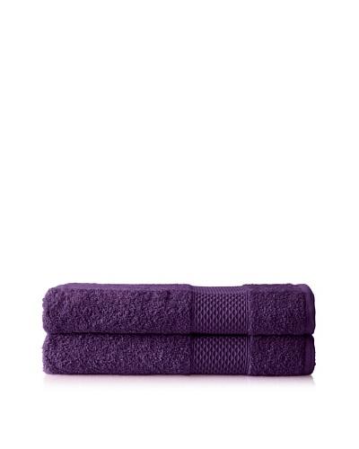 Anne de Solène Set of 2 Gourmandise Hand Towels, Crumble Aux Quetsches, 24 x 40