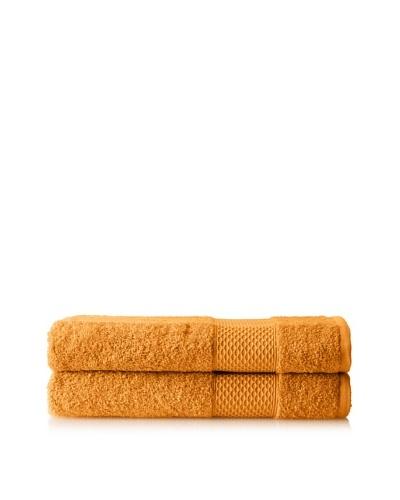 """Anne de Solène Set of 2 Gourmandise Hand Towels, Crème De Mocca, 24"""" x 40"""""""