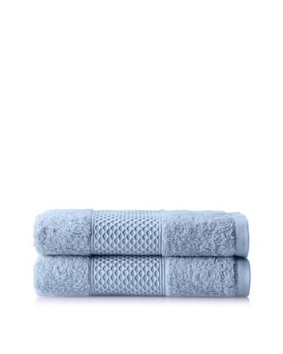 Anne de Solène Gourmandise Set of 2 Guest Towels, Sorbet A La Lavande, 16 x 24