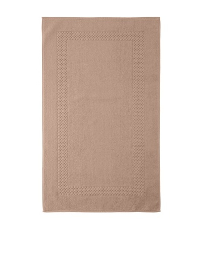 Anne de Solène Gourmandise Rectangular Bath Mat, Marron Givre, 24 x 40