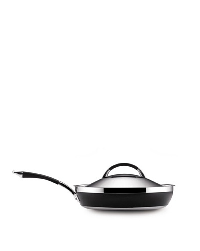 "Anolon Ultra Clad Stainless Steel 12"" Covered Deep Skillet"
