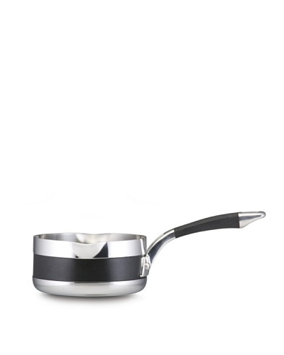 Anolon Ultra Clad Stainless Steel 1-Quart Saucepan with Two Pouring Spouts