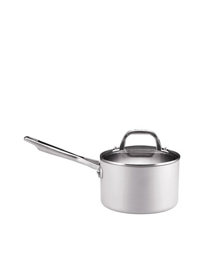 Anolon Chef Clad 3-Quart Covered Saucepan
