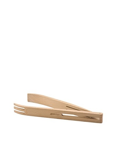 Anolon Advanced Tools Beechwood Salad Tongs, Natural, 12""