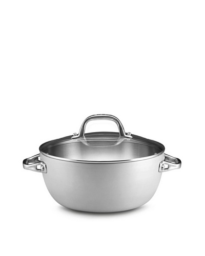 Anolon Chef Clad 5.5-Quart Covered Casserole