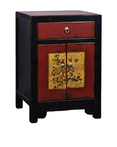 Antique Revival Mongolian-Style Cabinet