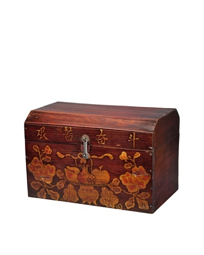 Antique Revival Tibetan Book Trunk [Natural]