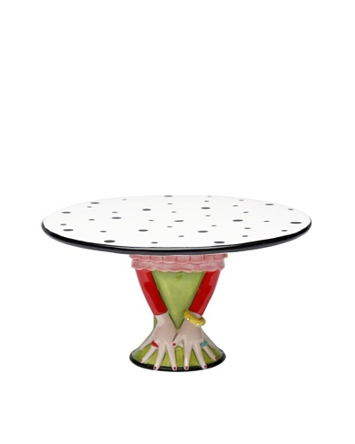 Appletree Design Dilly Dots Medium Cake Stand by Babs