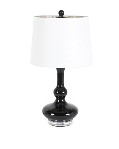 Applied Art Concepts Hixon Table Lamp, Black/White