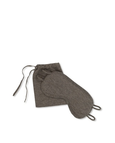 a&R Cashmere Eyemask with Bag [Sand]