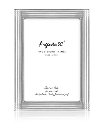 Argento SC Axis Sterling Picture Frame, 4 x 6