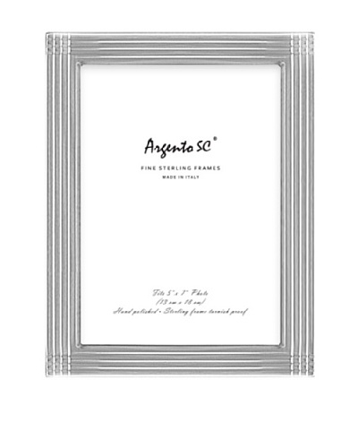 Argento SC Axis Sterling Silver Frame, 5 x 7