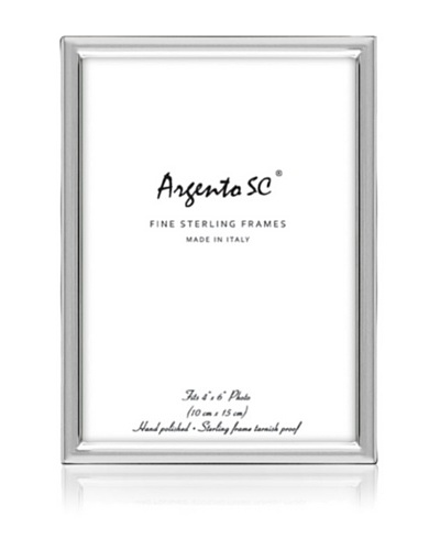 Argento SC Gardenia Sterling Picture Frame
