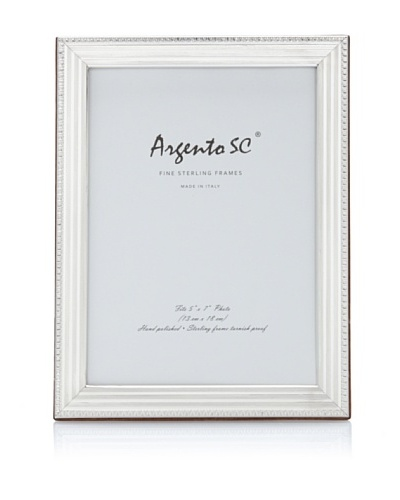 Argento SC Linea Sterling Picture Frame [Silver]
