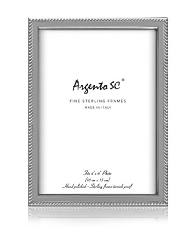 Argento SC Rodondo Sterling Picture Frame