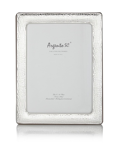 Argento SC Crocodile Sterling Picture Frame