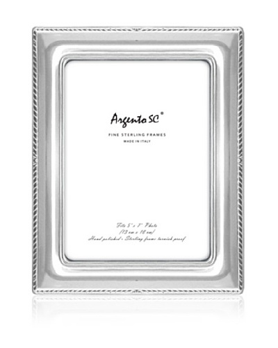 Argento SC Thin Border Sterling Picture Frame