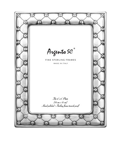 Argento SC Chenterosa Sterling Silver 5 x 7 Frame