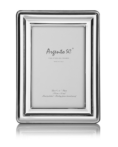 Argento SC Beveled Edge Sterling Picture Frame