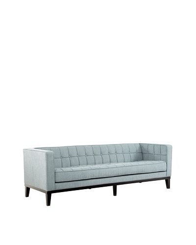 Armen Living Roxbury Sofa, Spa Blue