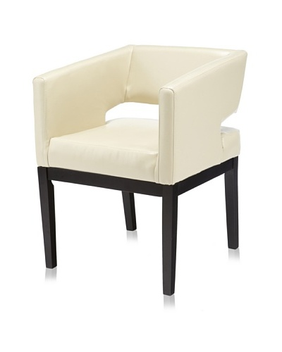 Armen Living Apollo Leather Arm Chair