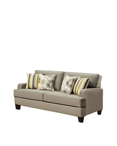 Armen Living Gatsby Sofa, Smoke