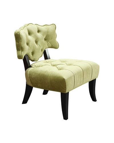 Armen Living 364 Diva Arm Chair, Sage Green