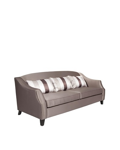 Armen Living Garbo Sofa, Champagne