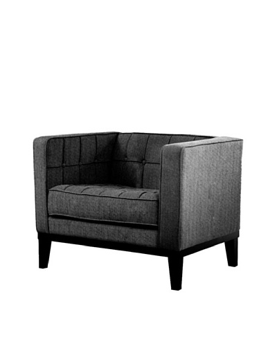 Armen Living Roxbury Chair, Charcoal