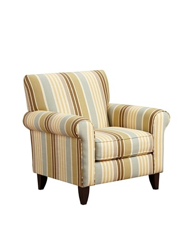 Armen Living Danny Zola Fabric Chair, FlaxAs You See