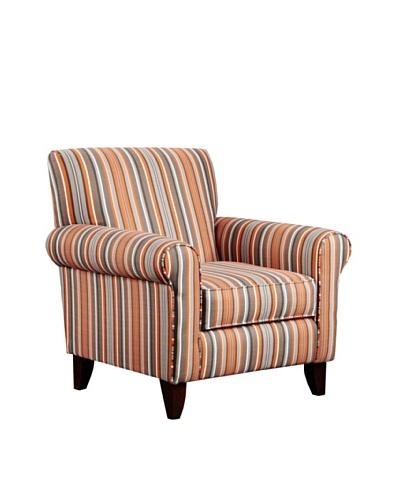 Armen Living Danny Divine Fabric Chair, Granite