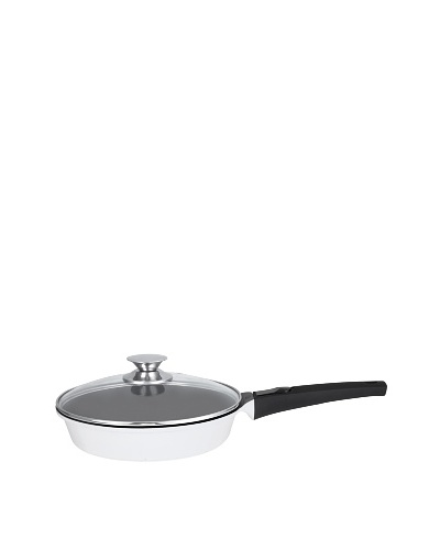 Art & Cuisine Amovible Frypan with Lid [White]