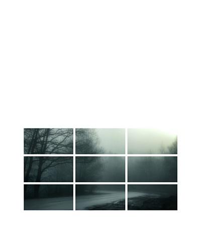 Art Addiction Foggy Dawn, Polyptych