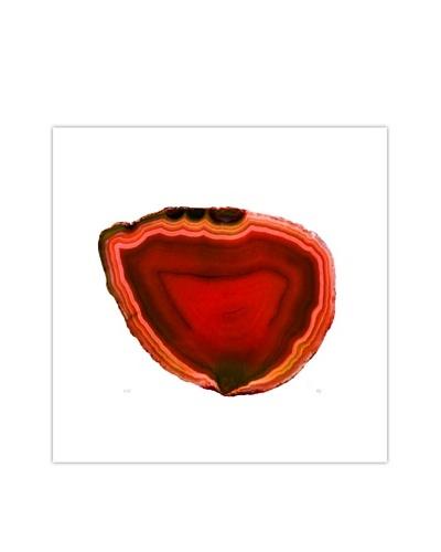 Art Addiction Acrylic Printed Red Agate Artwork
