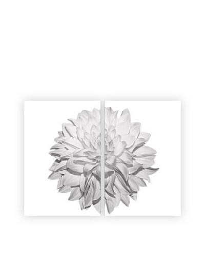 Art Addiction White Flower, Diptych