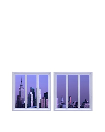 Art Addiction Set of 2 City View V