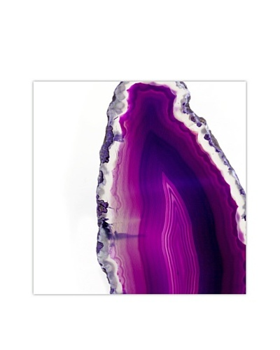 Art Addiction Acrylic Printed Purple Agate