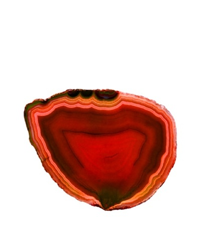 Art Addiction Acrylic Printed Red Agate Artwork