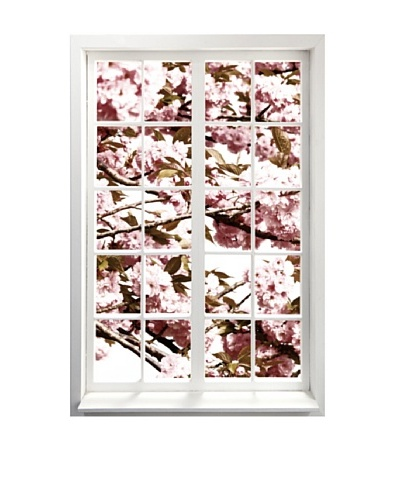 Art Addiction Spring Window I, Vertical
