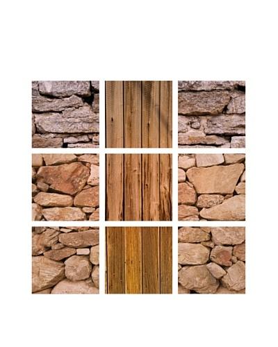 Art Addiction Stone/Wood, Polyptych