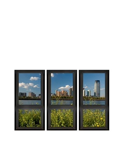 Art Addiction Set of 3 City View I